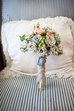Genevieve and Kyle's Beach Wedding Where Everything was DIY by Shandi Wallace
