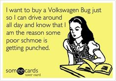 This might be why always loved VW bugs