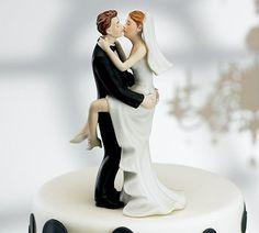 Topo de bolo de Casamento: 20 Noivinhos Diferentes e Divertidos