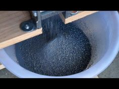 The process of making of vivianite pigment from the mineral. Further video display grinding with linseed oil and color mixes with flake white. Watch the micr...