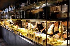 Chefs at Mr. Wong, Modern Chinese restaurant, Sydney