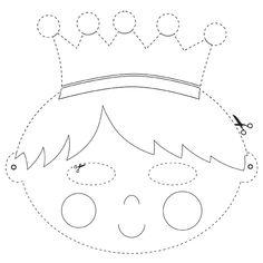 Masker van de Koning | © Papiergoed