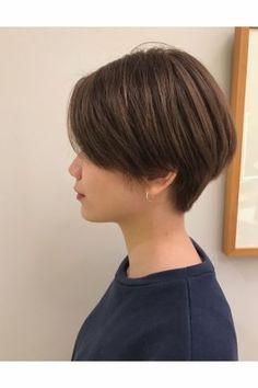 絶壁頭解決!後頭部に丸みを作る『前下がりショートボブ』 | 美容室カキモトアームズのおすすめヘアスタイルカタログ