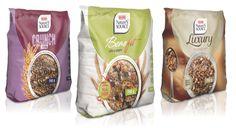3 ranges: Crunch range, benefit and Luxury