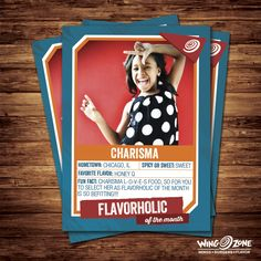 Meet Charisma. Charisma and her mom are AWESOME fans of ours and it is our honor to name Charisma our Flavorholic of the Month! Show some love for your fellow Flavorholic! Charisma will be receiving an exclusive Flavorholic T-shirt and 10 FREE Wings! Are you our next Flavorholic of the Month? Tag us on Instagram, Facebook and/or Twitter using #Flavorholic for your chance to win!