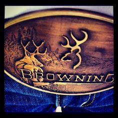 browning Belt Buckle <3