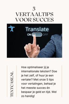Vertaaltips voor meer succes in het buitenland: hoe optimaliseer je internationale teksten. Waar moet je op letten en wat kun je het beste doen voor internationaal succes. Lees het in onze blog. #vertalen #succes #internationaal