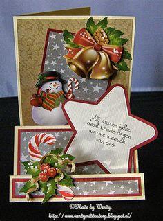 Petpan: Kerstkaart 2 voor kaartenpakket