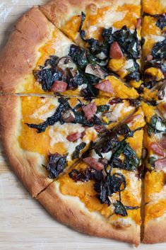 Roasted Butternut Squash Pizza
