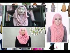 hijab anggun tutorial | kerudung