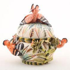 Ardmore ceramics: Hoopoe Tureen