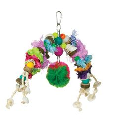 Prevue Hendryx 62162 Tropical Teasers Mobile Bird Toy ** More info could be found at the image url.Note:It is affiliate link to Amazon.