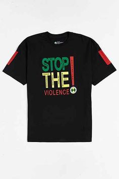Cross Colours Stop The Violence Tee - Urban Outfitters