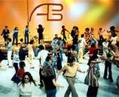 Saturdays on ABC after cartoons, noon or 1:00...American Bandstand! (Bing Images)