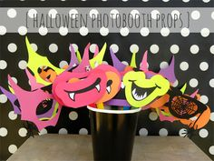 Hybrid Halloween | Halloween Photobooth Props by Amy Kingsford