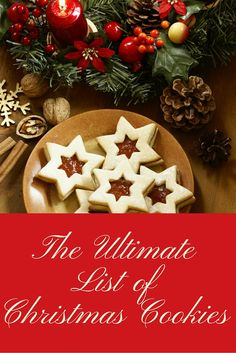 The Ultimate List of Christmas Cookies
