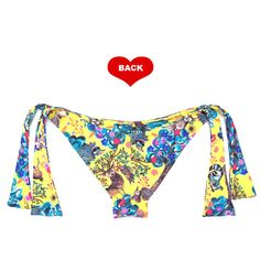 Brazilian Bikini Bottom Swimsuit Swimwear Arpa by ArpaBikineria