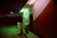 Alex Webb - MEXICO. Comitan. 2007. Red light district. Most of the women who work here are from Central America.