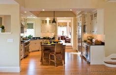 Traditional Two-Tone Kitchens Gallery