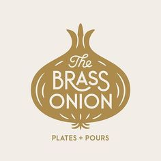 Carpenter Collective @carpentercollective - New Work: Brand identity system for the restaurant The Brass Onion a low country American restaurant with a little southern flair. #carpentercollective_work #brandidentity #graphicdesign