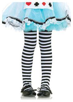 Leg Avenue Black/White Nylon Striped tights Medium yrs) M for sale Black And White Tights, Striped Tights, Colored Tights, Black White Stripes, Ballet Tights, Queen Of Hearts Costume, Alice In Wonderland Costume, Leg Avenue, Halloween Costumes For Girls