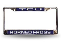 TEXAS CHRISTIAN LASER CHROME FRAME