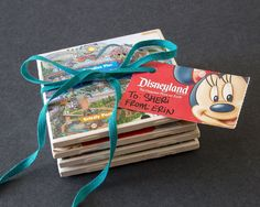 """Show Your DIY Disney Side: Disney Parks Guide Map Coasters Use free disney maps to make coasters! *Square ceramic tiles (shown 4 ½"""" x 4 ½"""".) *Disneyland Resort guide map, theme park tickets or any other decorative paper, cut into squares *Foam brush * Disney Parks, Disney Park Maps, Disney Fun, Disney Trips, Disney Cruise, Disney Ideas, Disney Family, Disney Stuff, Disney Magic"""