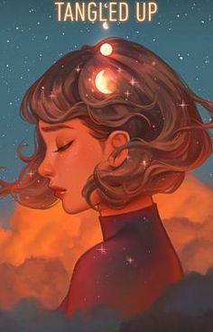 Beyond The Clouds, Karmen Loh, Digital, 2020 Art Inspo, Inspiration Art, Art Anime Fille, Anime Art Girl, Fantasy Wesen, Fantasy Art, L'art Du Portrait, Art Mignon, Cartoon Art Styles