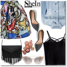 Shein by aida-nurkovic on Polyvore featuring 3x1 and J.Crew