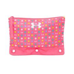 "UNDER ARMOUR Girls Pencil Case - Large 10"" x 7""  PINK  Craft Organizer NEW!!  | eBay"