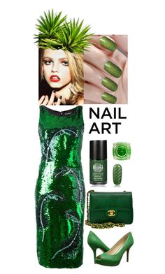 """""""Untitled #51"""" by hajnicska56 ❤ liked on Polyvore featuring Dolce&Gabbana, Nine West and Chanel"""