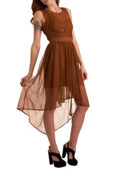 Do You See What I Sepia? Dress [skirt skirt skirt]