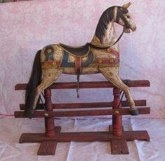 Rocking Horse on Glider