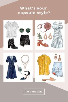 Take this fun quiz to find out your style persona, and get tips and resources to build a capsule wardrobe. Slow Fashion, Ethical Fashion, Fashion Quiz, Autumn Fashion, Fashion Outfits, Toddler Fashion, Toddler Outfits, My Style Quiz, Capsule Wardrobe Mom