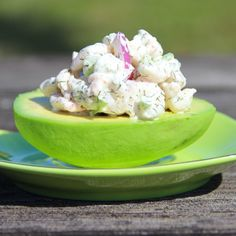 The Monogrammed Mom: Shrimp Salad Avocados {Whole 30 Approved}