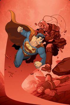 Superman by Karl Kerschl