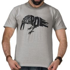 Edgar Allan Poe - The Raven Tshirt $26