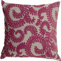 One Allium Way Boutin Ferns Throw Pillow Color: Pink Oversized Throw Pillows, Boho Throw Pillows, Throw Pillow Sets, Toss Pillows, Outdoor Throw Pillows, Decorative Throw Pillows, Accent Pillows, Pink Home Decor, Cricut