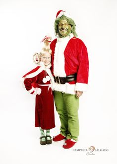 Homemade Cindy Lou Who and the Grinch Halloween costumes. I hope they brought these back  sc 1 st  Pinterest & Halloween Costume Contest 2013 | Halloween costume contest Costume ...