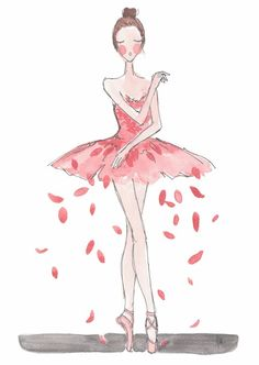 Ballet illustrations by Noemi Manalang