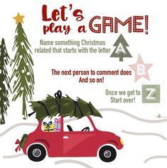 Scentsy Games, Facebook Engagement Posts, Fun Christmas Games, Lets Play A Game, Interactive Posts, Facebook Party, Thirty One Gifts, Pink Zebra, Christmas Illustration