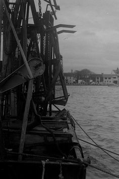 """Shot on Black and White Film. Shot, developed and printed by myself. A little picture of a fishing trawler off the harbor at Skerries, Co. Link is to my Photography account 💖 Jump over and leave a """"📌"""" if you're from here! Color Photography, Film Photography, Digital Photography, Jump Over, 35mm Film, Black And White Photography, Dublin, Sailing Ships, Seaside"""