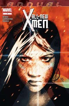 All-New X-Men Annual #1 THE SECRET LIFE OF EVA BELL - Part 2. Part two of Eva Bell's journey through the ages! With limited control over her powers, and even less control over her destinations, Eva had believed herself lost in time. But just when she had come to accept this as truth, her world was once again ripped asunder as she is once again sent tumbling through time.
