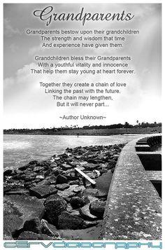 grandparents sayings | Grandparents Poem Black & White | Quotes