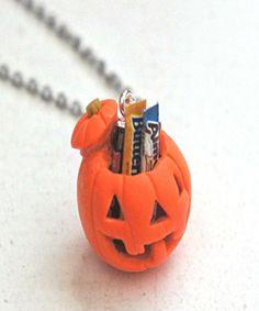 Jack O Lantern Necklace