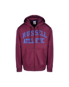 b68ed935e0a08 RUSSELL ATHLETIC Men s Sweatshirt Maroon L INT Russell Athletic