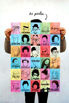 Fame Poster #design_illustration Rejoignez nous sur Pinterest!