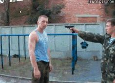 If you point a gun at a Russian you're gonna have a bad time.