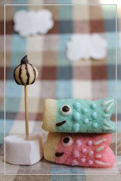 こどもの日のケーキの飾りに♪かわいすぎる!こいのぼりクッキーのアイデア♡