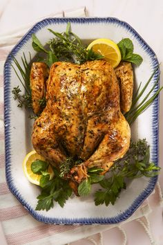 Lemony Herb Roast Chickengoodhousemag